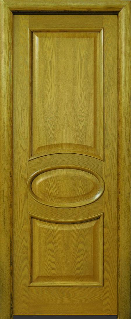 натуральные дубовые двери входные
